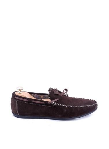 Wessi Erkek Süet Corcik Bağcık Detaylı Ayakkabı Kahve